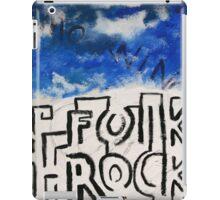 Folk Rock iPad Case/Skin
