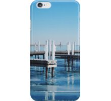 Frozen Lake Michigan  iPhone Case/Skin