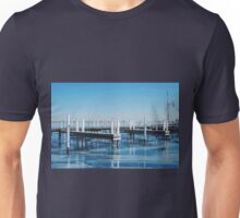 Frozen Lake Michigan  Unisex T-Shirt