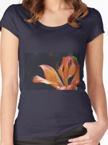 Lilies in the Garden Women's Fitted Scoop T-Shirt