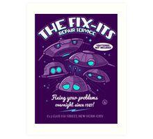 The Fix-Its Repair Service Art Print