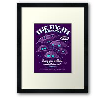 The Fix-Its Repair Service Framed Print