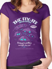 The Fix-Its Repair Service Women's Fitted Scoop T-Shirt