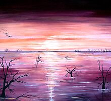 Colours of Water  by Linda Callaghan
