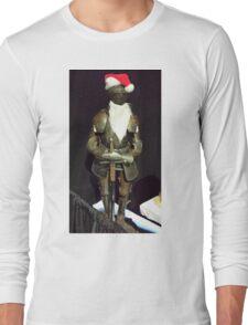 Santa Is A Knight Long Sleeve T-Shirt