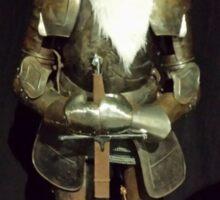 Santa Is A Knight Sticker