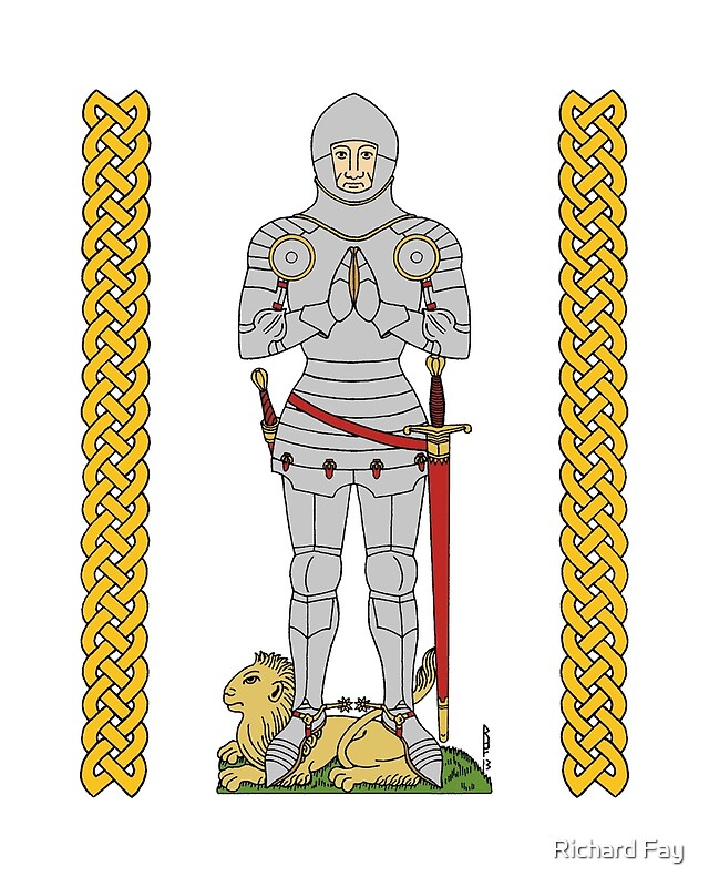 English Knight Circa 1430 by Richard Fay Redbubble