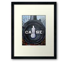 Case proud Framed Print