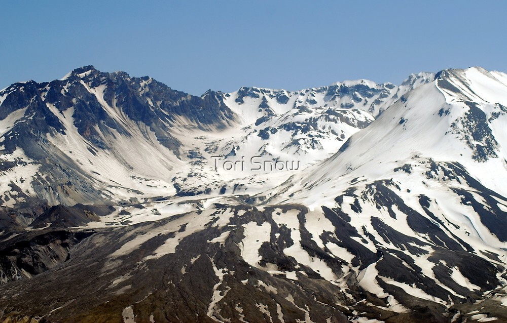 The Crater of Mt. St. Helens by Tori Snow