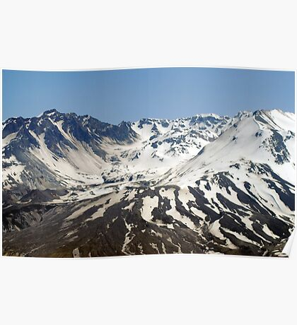 The Crater of Mt. St. Helens Poster