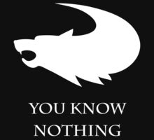 You Know Nothing Jon Snow by royalbaum