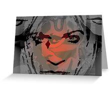Demons Inside Focal Greeting Card