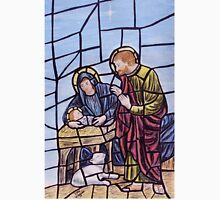 Stained glass nativity T-Shirt