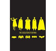 The Evolution of Batman (Posters & Prints) Photographic Print