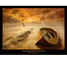The Solitude of the Sea 4 Photographic Print