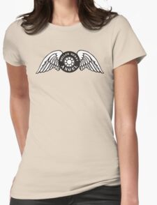 Roller Derby Angel Womens Fitted T-Shirt