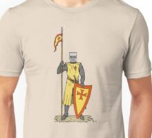 Crusader Knight, Early 13th Century Unisex T-Shirt