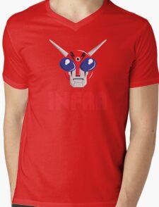 INFRA FACE Mens V-Neck T-Shirt
