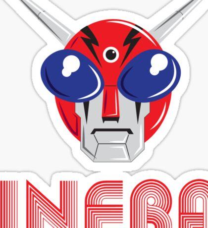 INFRA FACE Sticker