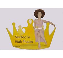 Seated in High Places Photographic Print