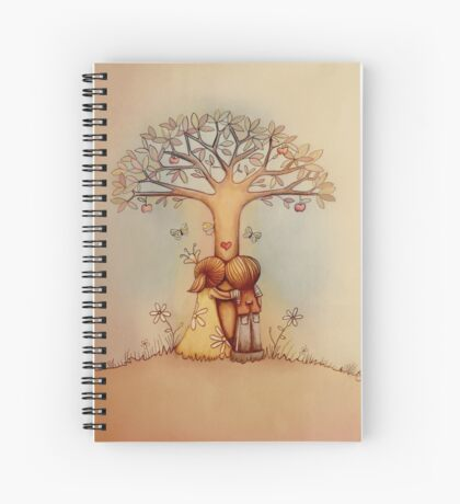 underneath the apple tree Spiral Notebook