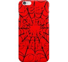 Keep Calm-Spidey iPhone Case/Skin