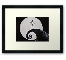 Jack Skellington Framed Print