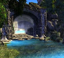 Entrance to the Lost World by elsbethwriter