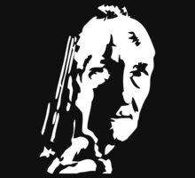 Stencil William S Burroughs by C11W11S