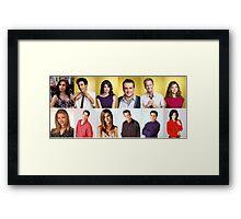 HIMYM/FRIENDS Framed Print