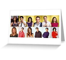 HIMYM/FRIENDS Greeting Card
