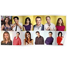 HIMYM/FRIENDS Poster