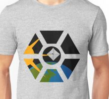 Lightsail seen through ISS cupola Unisex T-Shirt