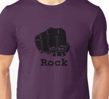 Rock Paper Scissors T-shirt (ROCK) Unisex T-Shirt