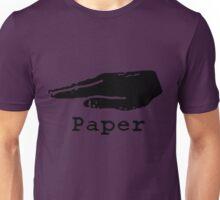 Rock Paper Scissors T-shirt (PAPER) Unisex T-Shirt