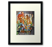 Collage Construct No. 2 Framed Print