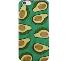 WATERCOLOUR EDITIONS - AVOCADO iPhone Case/Skin