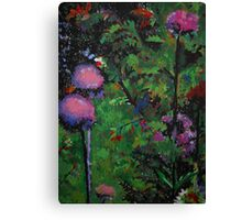 Thistles by the Drive Canvas Print