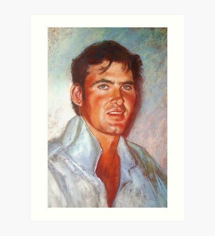 Portrait of James Art Print