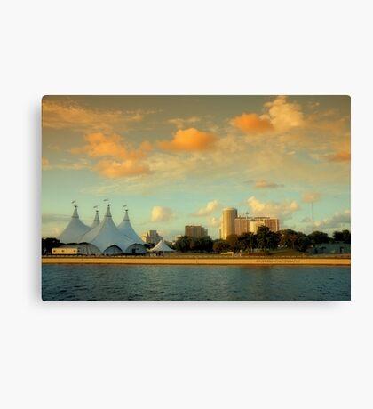 Scenes from Miami VI Canvas Print