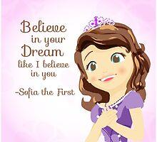 Sofia Believes in You by pietowel