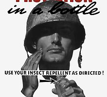 Use Your Insect Repellent As Directed! -- WW2 by warishellstore