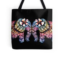 Tattoo Babies elephants Tote Bag