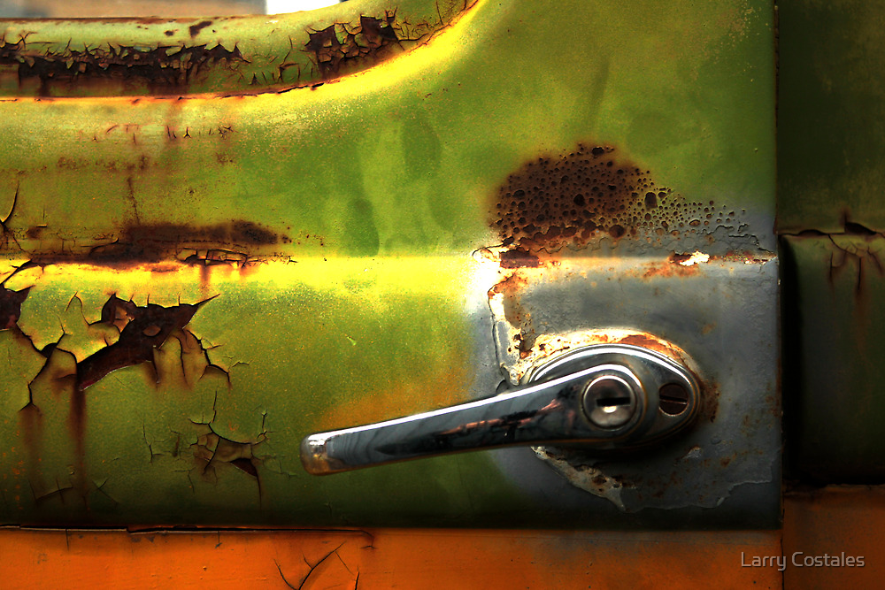 Abstract Truck Detail - Perris CA by Larry3