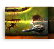 Abstract Truck Detail - Perris CA Canvas Print