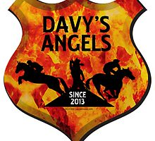 Davy's Angels Badge by Suzanne  Gee