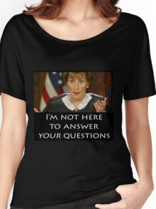 Your Questions Women's Relaxed Fit T-Shirt