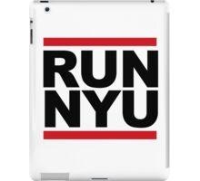 RUN NYU iPad Case/Skin