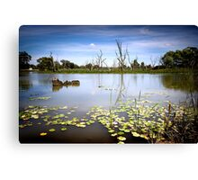 The Channel Canvas Print