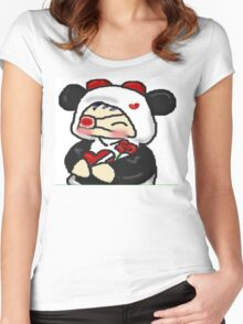 Silly Chibi Women's Fitted Scoop T-Shirt